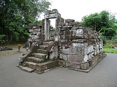 Candi Gunung Wukir Wikipedia Bahasa Indonesia Ensiklopedia Bebas Sari Kab