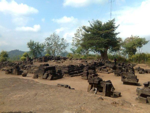 Jejak Peninggalan Cagar Budaya Candi Gunung Sari Kab Magelang