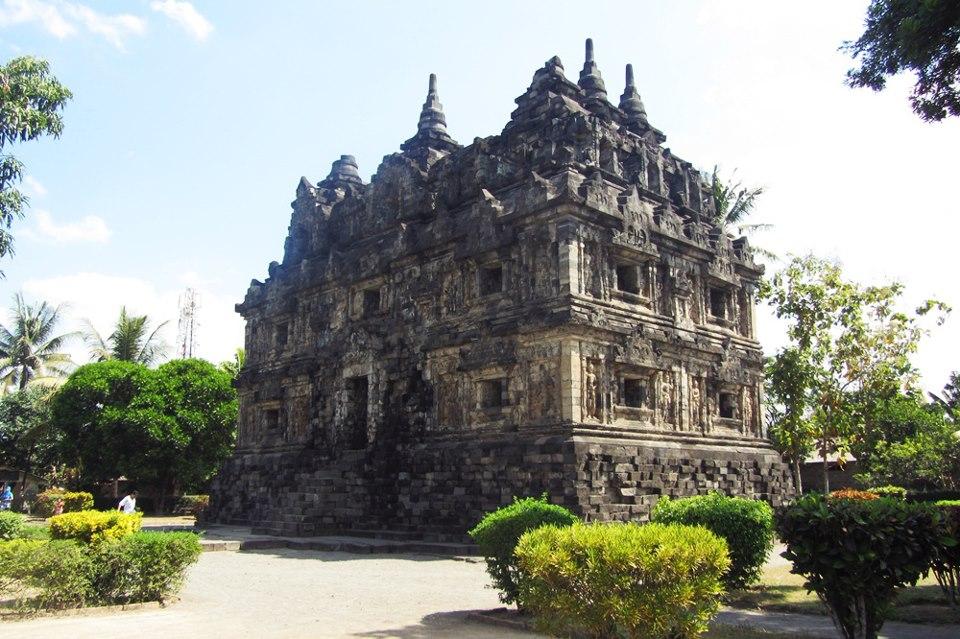 Kompleks Candi Gunungsari Magelang Jawa Tengah Keindahan Gunung Sari Kab