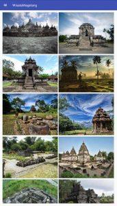 Wisata Magelang Kabupaten Terdapat Candi Borobudur Mendut Pawon Ngawen Canggal
