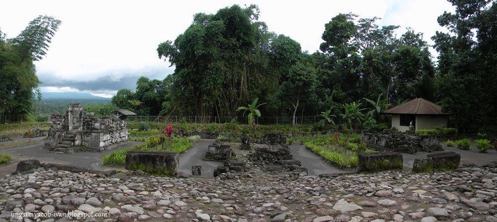 Wisata Sejarah Candi Gunungwukir Magelang Tempat Gambar Foto Luas Wilayah