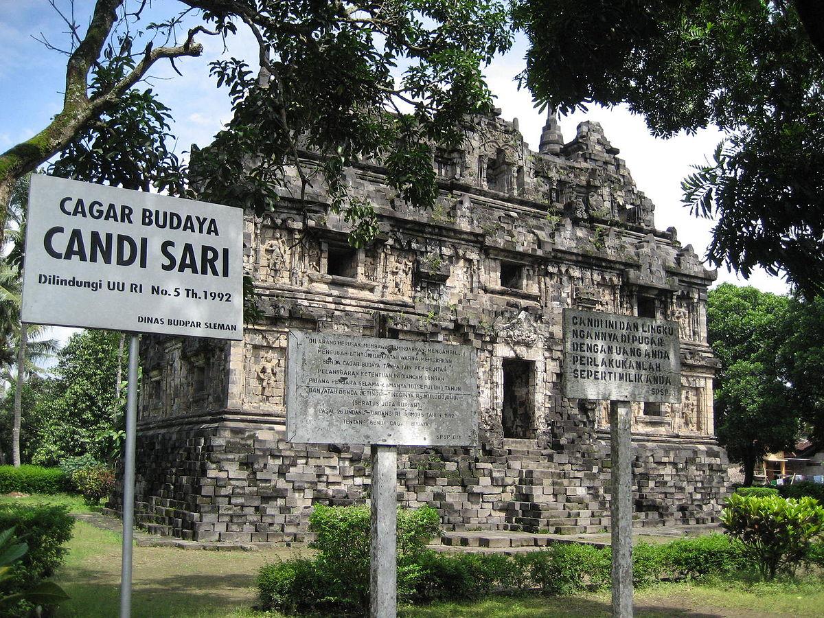 Candi Sari Wikipedia Bahasa Indonesia Ensiklopedia Bebas Gunung Wukir Kab