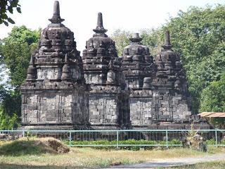 Candi Lumbung Magelang Indonesia Kab