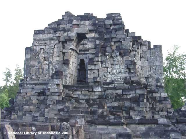 Candi Lumbung Sengi Magelang Jawa Tengah Utama Sendiri Tinggal Reruntuhan