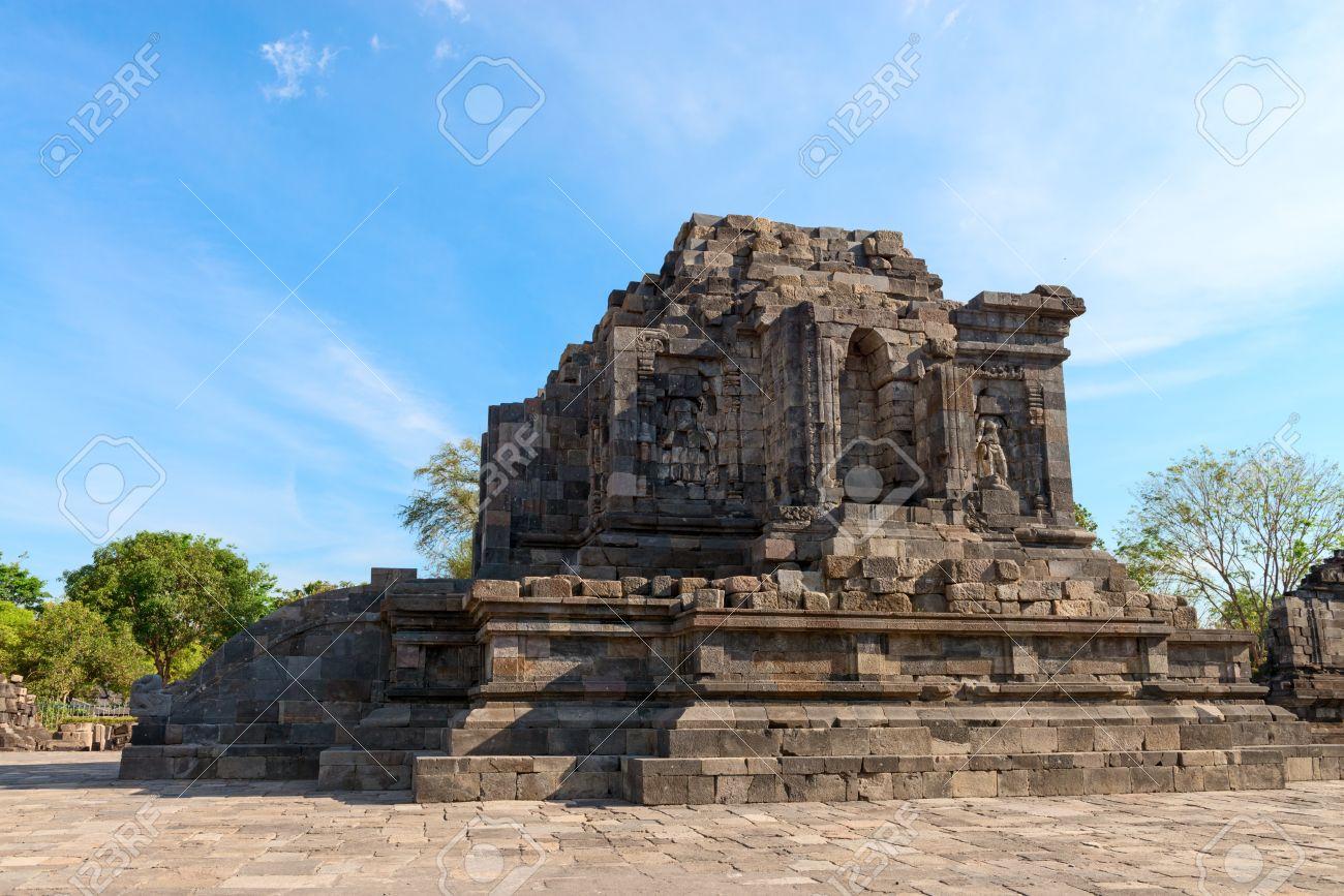 Ruins Candi Lumbung Buddhist Temple Prambanan Complex Indonesia Java Yogyakarta