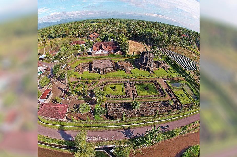 Candi Ngawen Situs Sejarah Dikenal Wisatawan Merahputih Kab Magelang