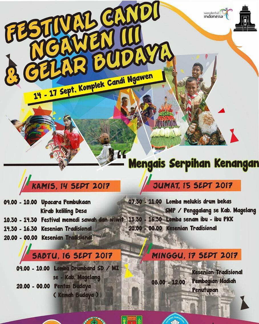 Jateng Live Event Festival Candi Ngawen 3 Gelar Budaya Lomba
