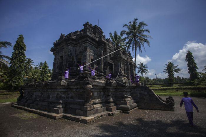 Wisata Candi Ngawen Antara Foto Buddha Dibangun Wangsa Sailendra Abad