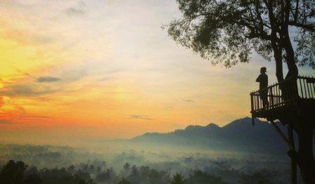 63 Tempat Wisata Magelang Wajib Dikunjungi Gardu Pandang Bukit Barede