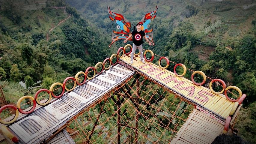 Delimas View Apik Gunung Sumbing Trip Gardu Pandang Kuadaan Kab