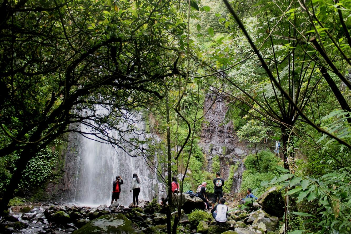 Gardu Pandang Gedong Pass Air Terjun Dusun Kabupaten Semarang Kuadaan