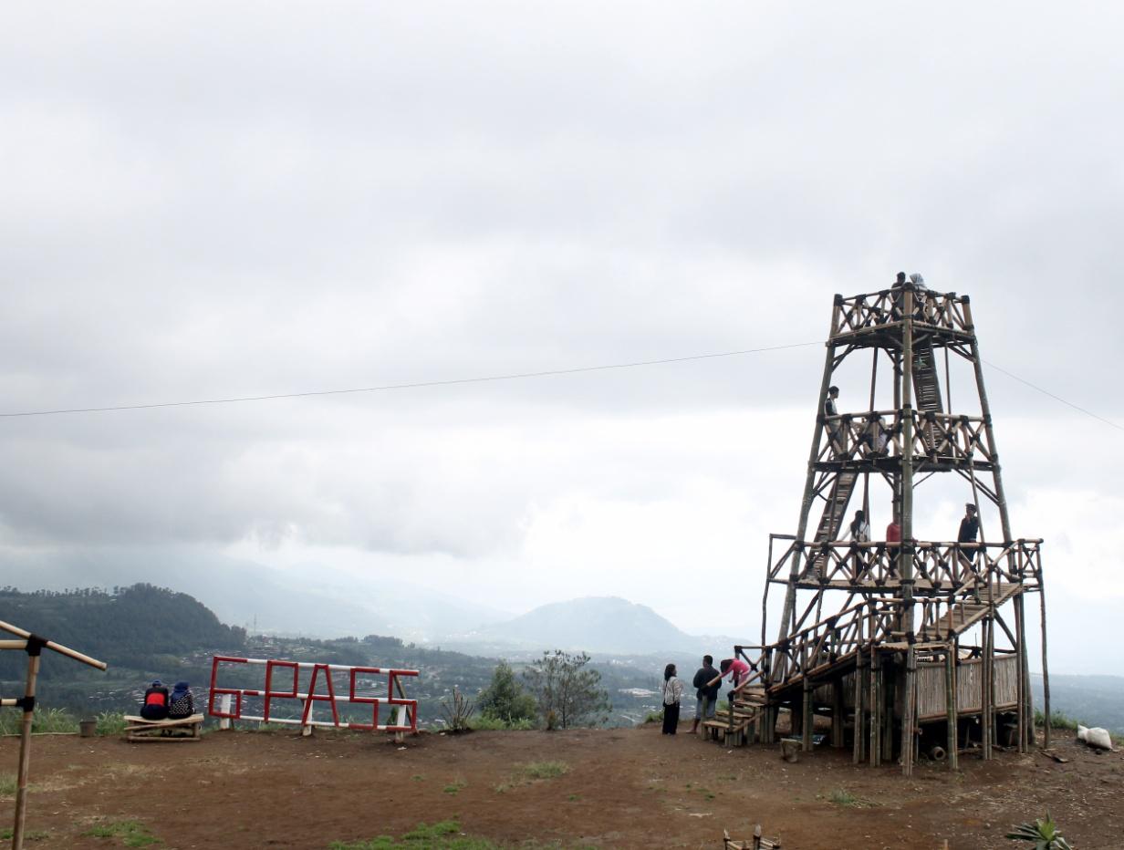 Gardu Pandang Gedong Pass Air Terjun Dusun Kuadaan Kab Magelang