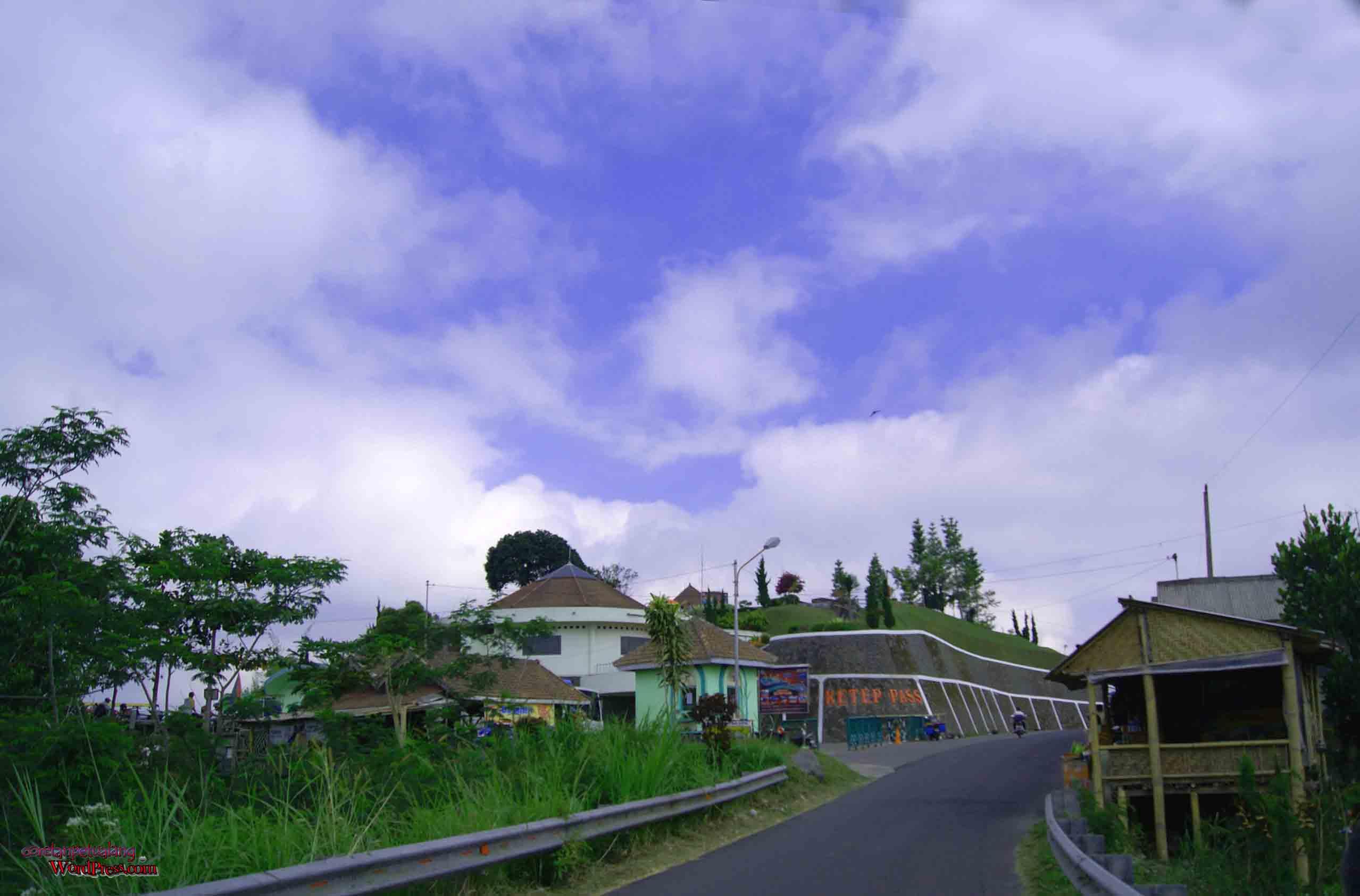 Melihat Keindahan Gunung Merapi Merbabu Ketep Pass Jalan Menuju Gardu