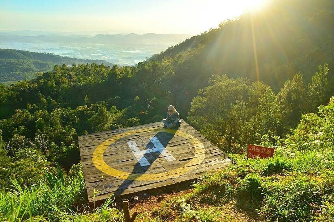 Rute Lokasi Desa Wisata Sepakung Banyubiru Semarang Gardu Pandang Kuadaan