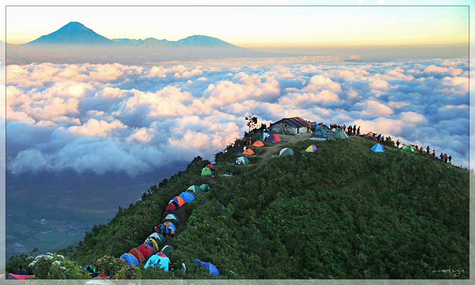 10 Lokasi Selfie Top Magelang Info Borobudur Wisata Gunung Andong