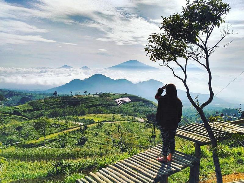 12 Hidden Natural Attractions Magelang Spectacular Views Enjoy Unobstructed Sun