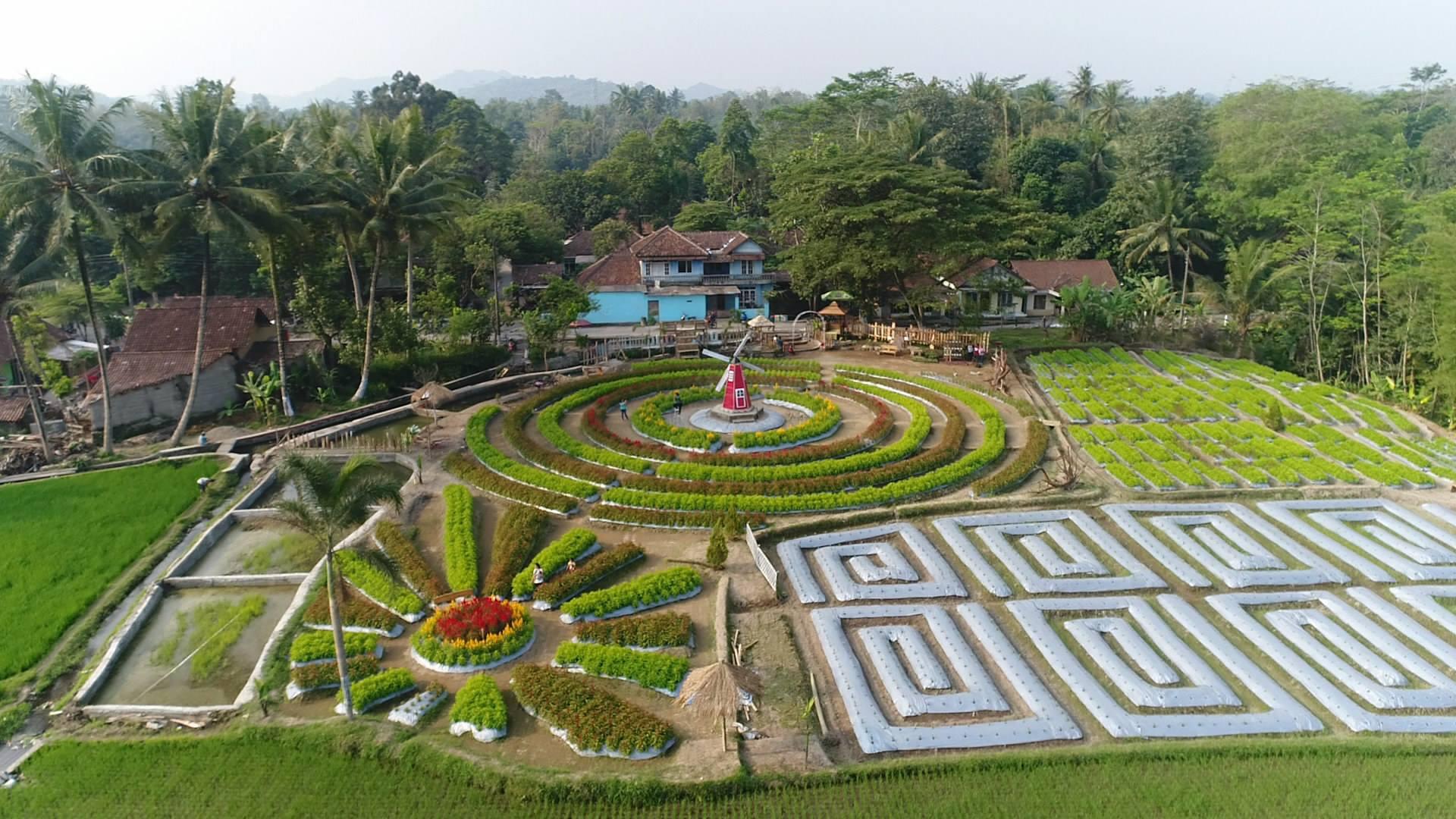 Wisata Terbaru Instagramable Kabupaten Magelang Dinas Gardu Pandang Mangli Kab