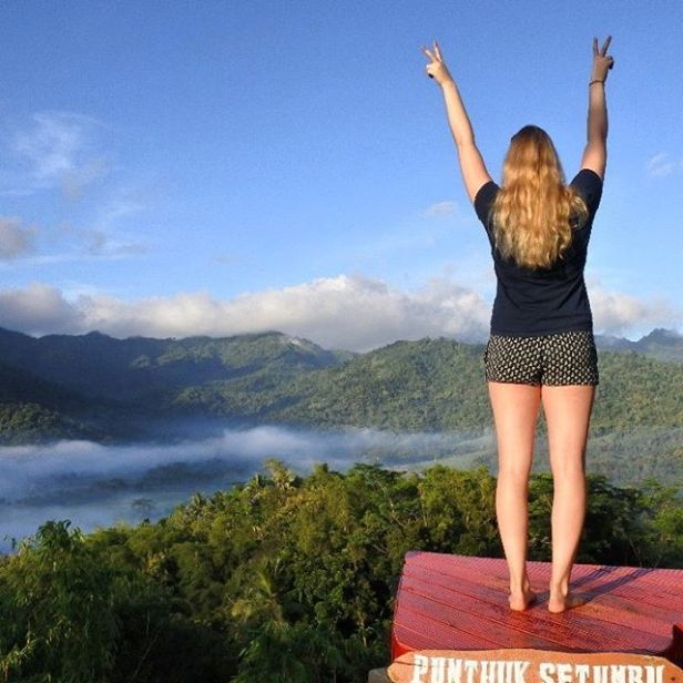 34 Tempat Wisata Hits Magelang Indopiknik Gardu Pandang Puthuk Setumbu