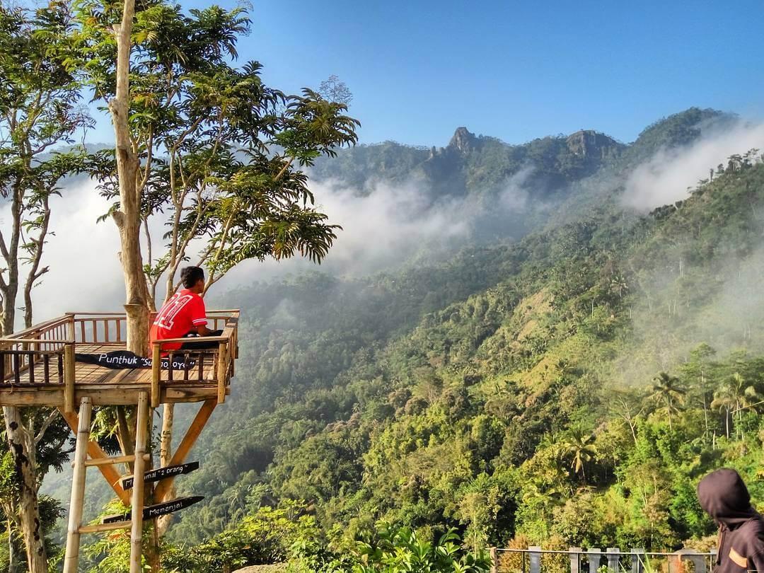 Punthuk Sukmojoyo Hill Borobudur Magelang Berbagai Spot Gardu Pandang Ndlimas