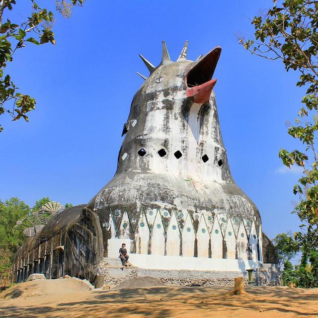 Top 17 Tempat Wisata Magelang Direkomendasikan Foto Gereja Ayam Gardu