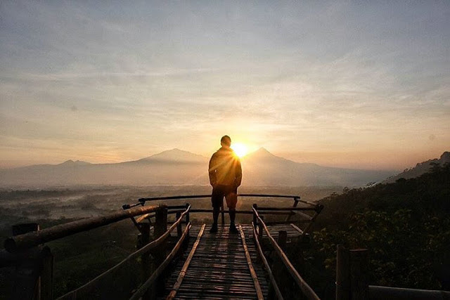 Top 17 Tempat Wisata Magelang Direkomendasikan Punthuk Gupakan Gardu Pandang