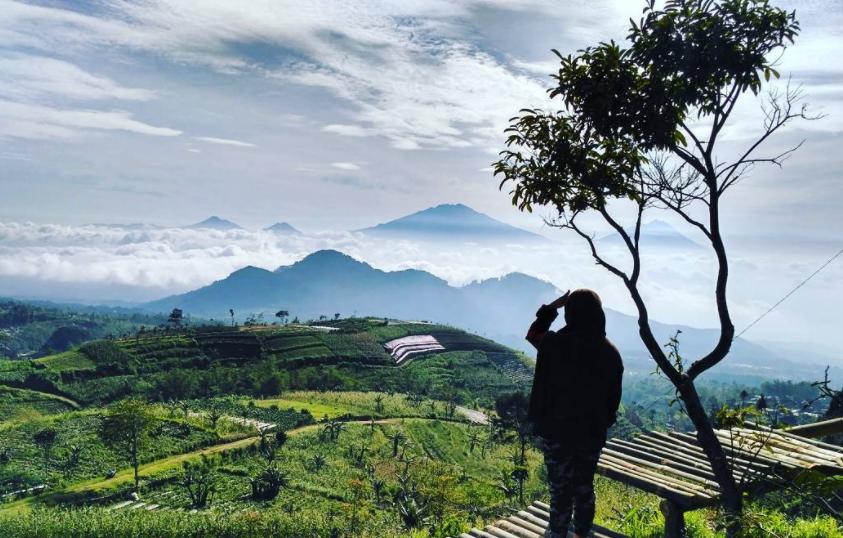 29 Tempat Wisata Magelang Terbaru Hits Dikunjungi Gardu Pandang Silancur