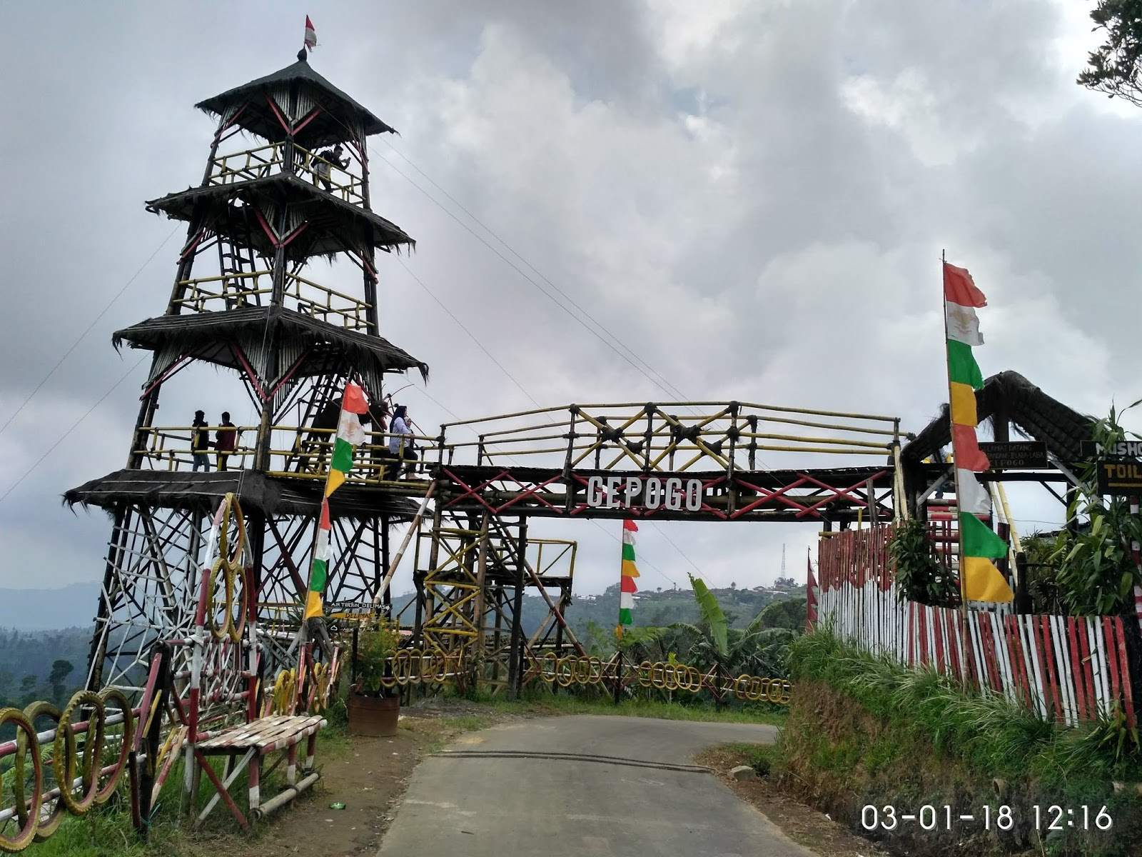 Keindahan Alam Gardu Pandang Delimas Traveling Diary Foto 2 Photo