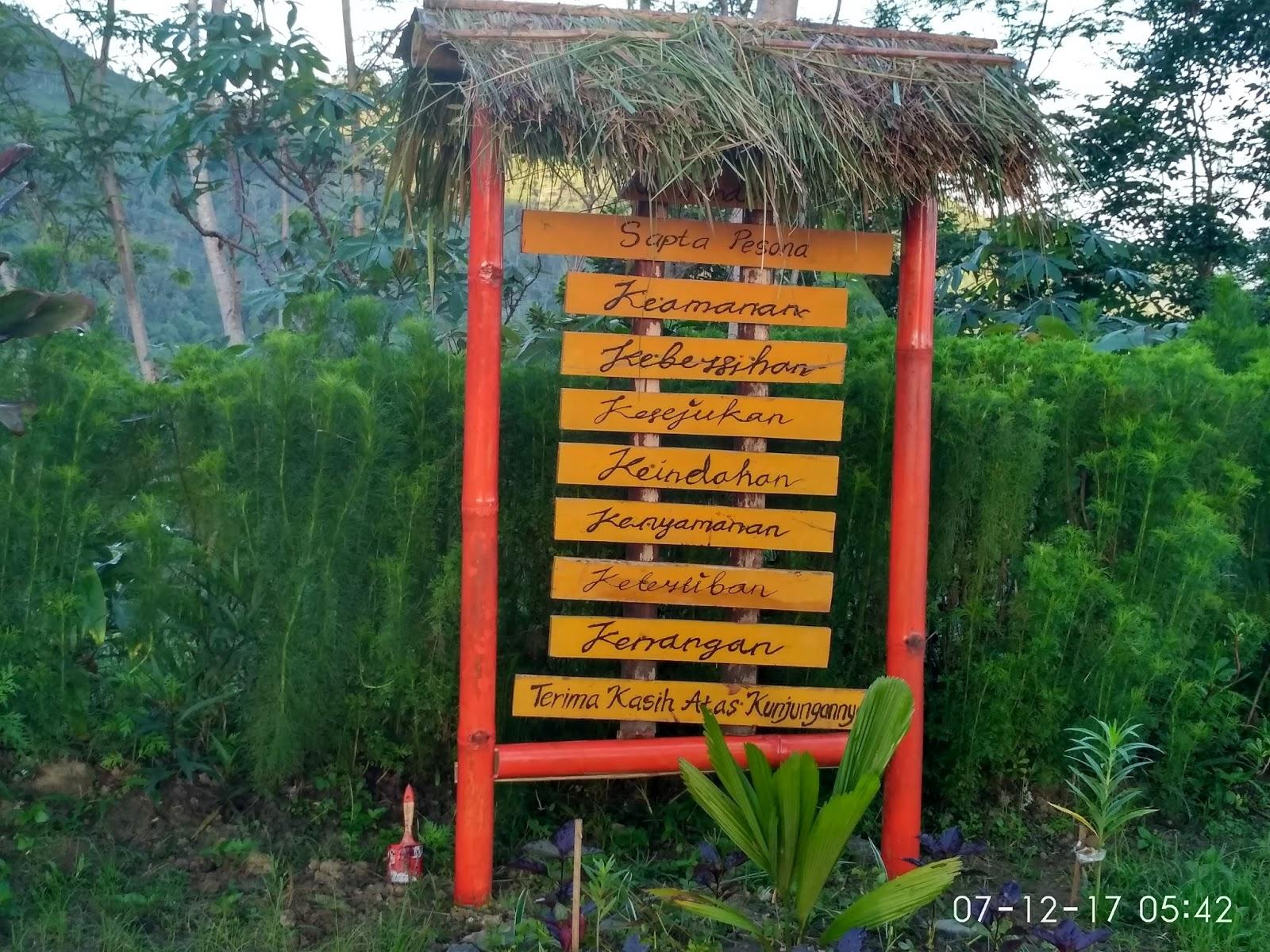 Mengejar Sunrise Punthuk Gupakan Traveling Diary Papan Tata Tertib Disana