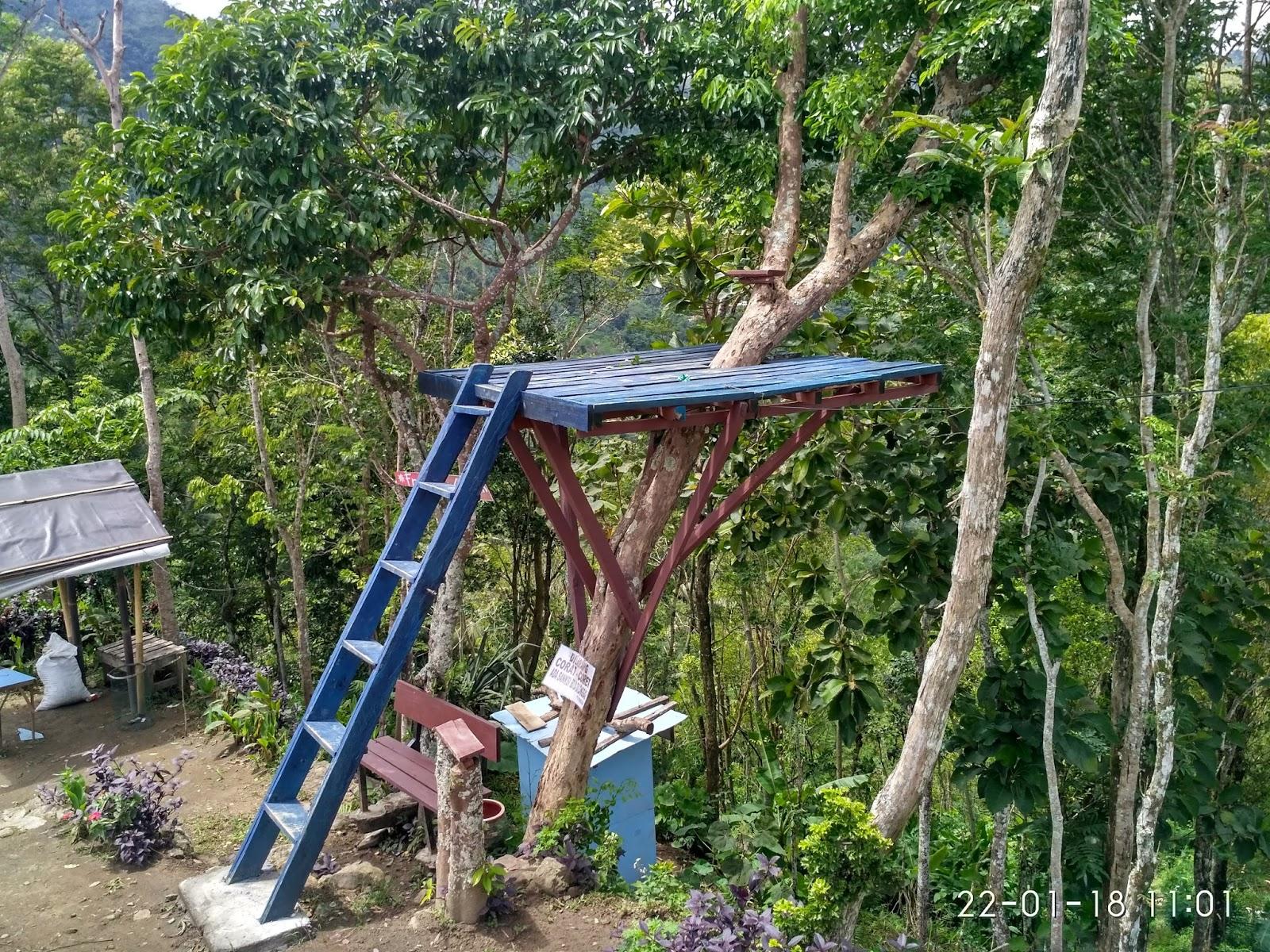 Menikmati Keindahan Alam Pegunungan Menoreh Punthuk Mongkrong Gardu Pandang Photo