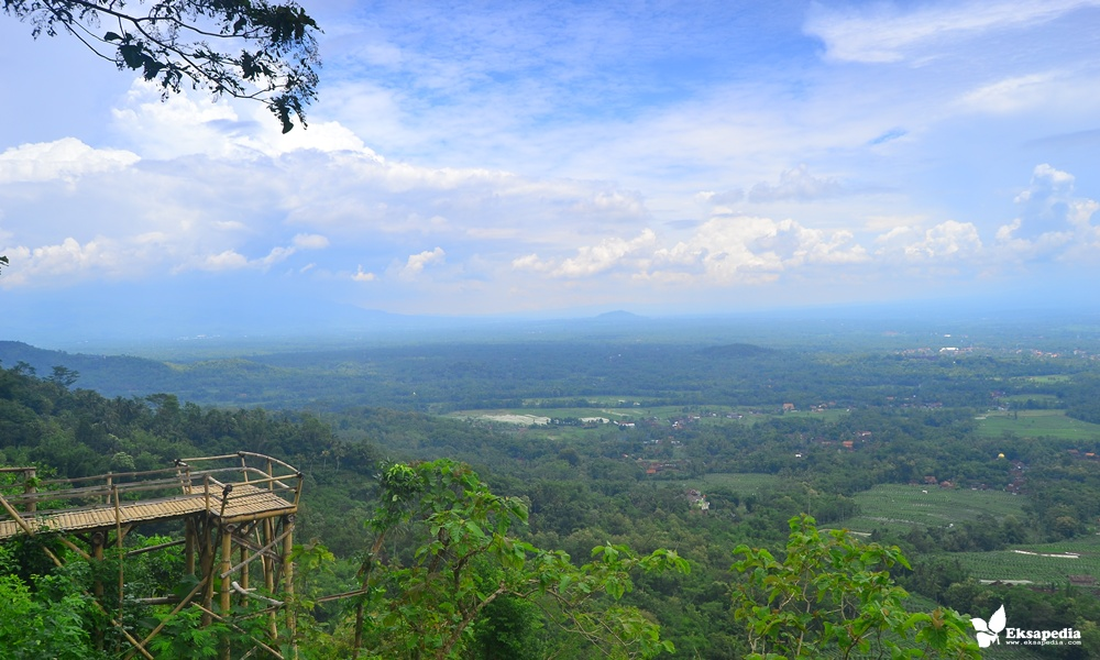 Obyek Wisata Punthuk Kendil Magelang Jawa Tengah Tidak Heran Menjadi