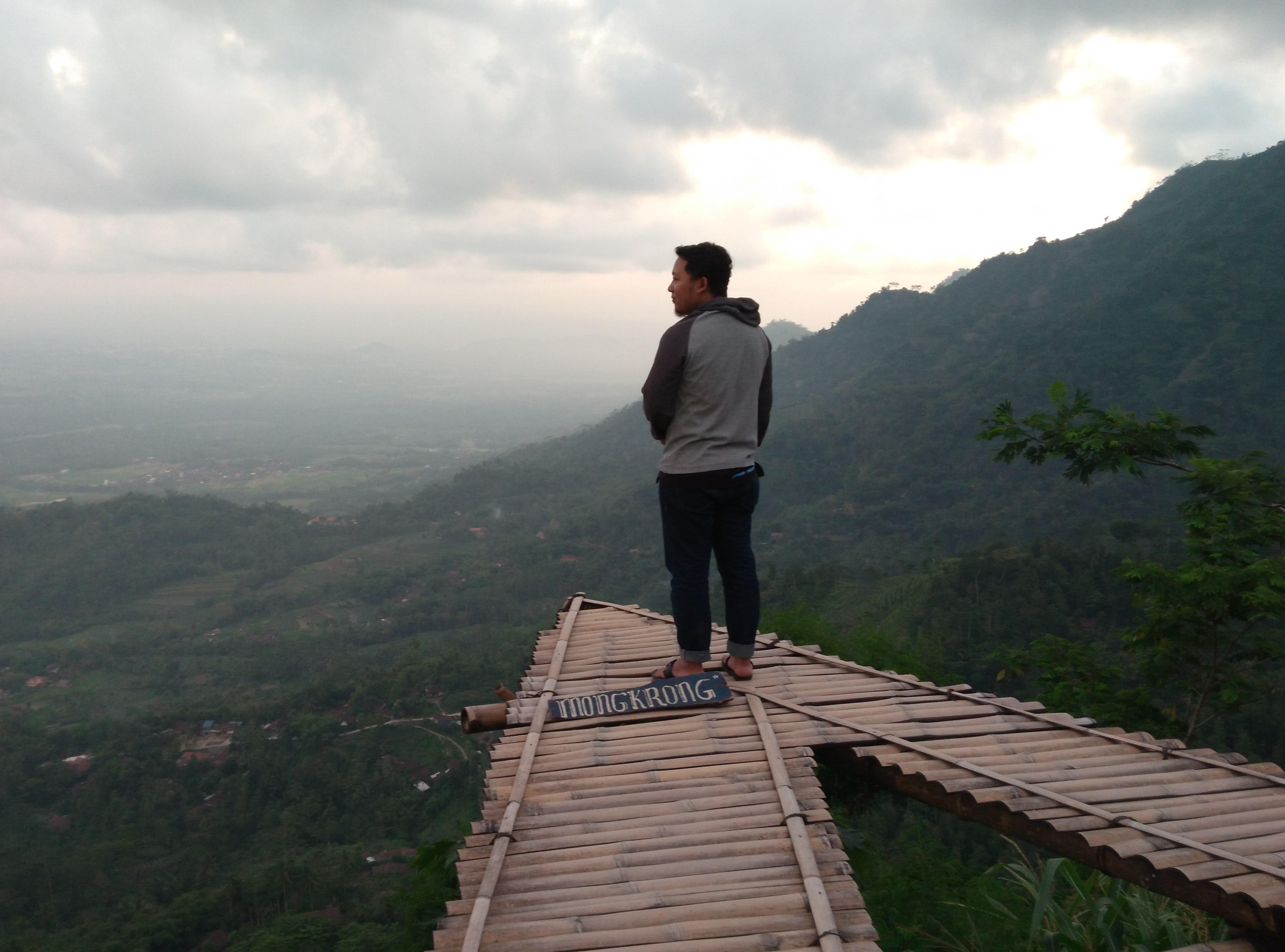 Punthuk Mongkrong Borobudur Wisata Magelang Gardu Pandang Puthuk Gupakan Kab