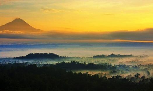 Punthuk Mongkrong Magelang Eloratour Setumbu Jawa Tengah Gardu Pandang Puthuk