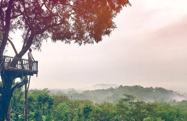 Top 17 Tempat Wisata Magelang Direkomendasikan Bukit Barade Gardu Pandang