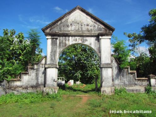 Benteng Kalimo Jejak Bocahilang Kerkhof Sumenep Gerbang Kab Magelang