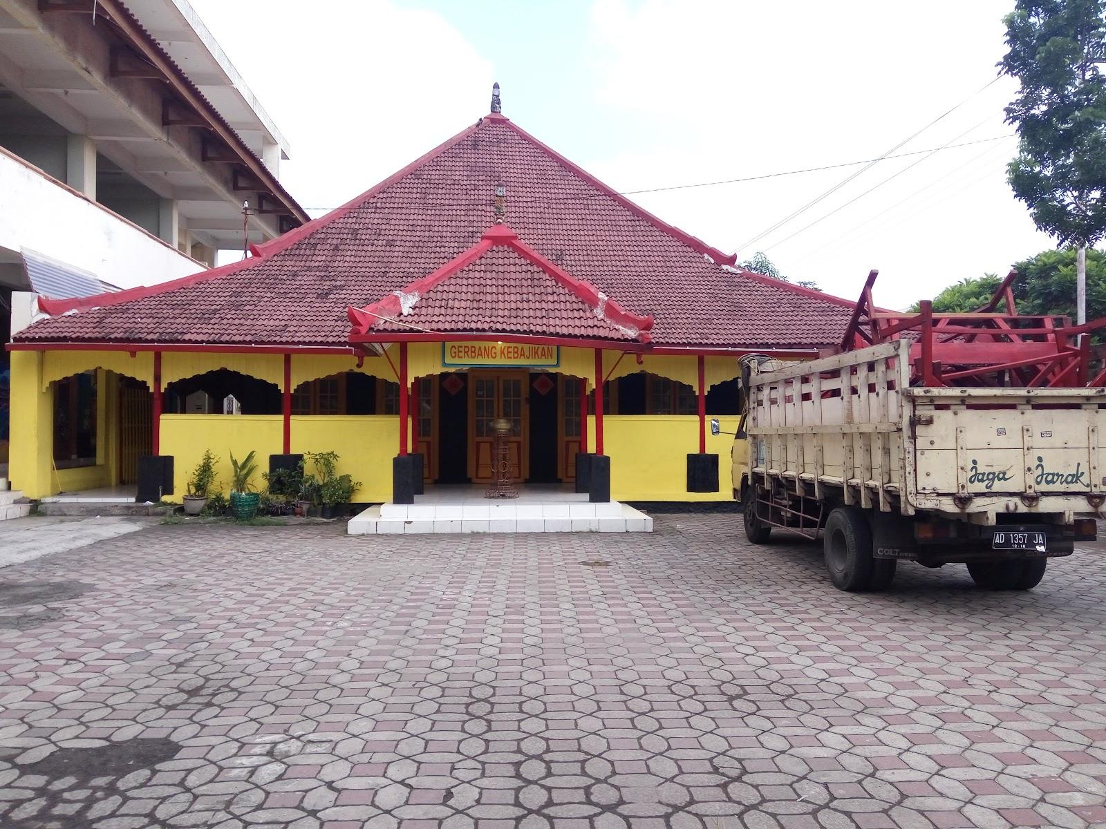 Litang Gerbang Kebajikan Surakarta Kekunaan Memasuki Bangunan Utama Pengunjung Menjumpai