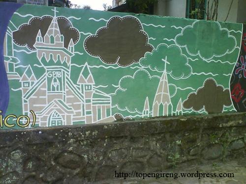 Mural Topeng Ireng Art Gerbang Kerkhof Kab Magelang