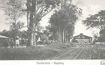 Stasiun Kota Magelang Kebonpolo Topeng Ireng Gerbang Kerkhof Kab