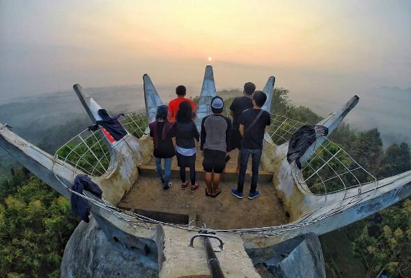 65 Daftar Tempat Wisata Hits Magelang Jawa Tengah Gereja Ayam