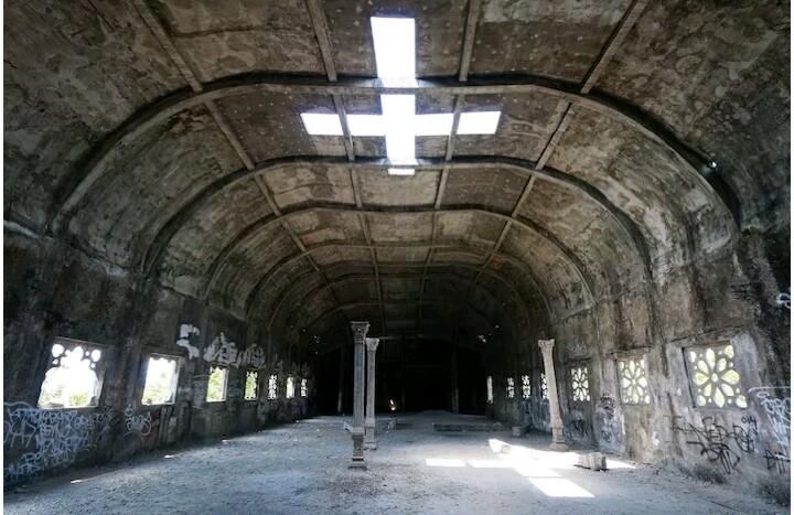 Gereja Ayam Bukit Rhema Magelang Jawa Tengah Viapendaki Berada Pilar
