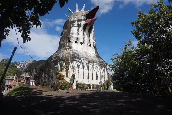 Gereja Ayam Bukit Rhema Obyek Wisata Eksotis Magelang Warung Kab