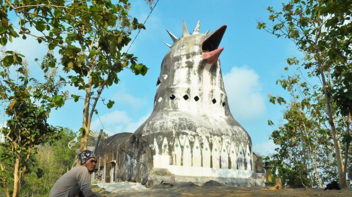 Gereja Ayam Dibangun Setelah Bisikan Gaib Tribun Jogja Kab Magelang