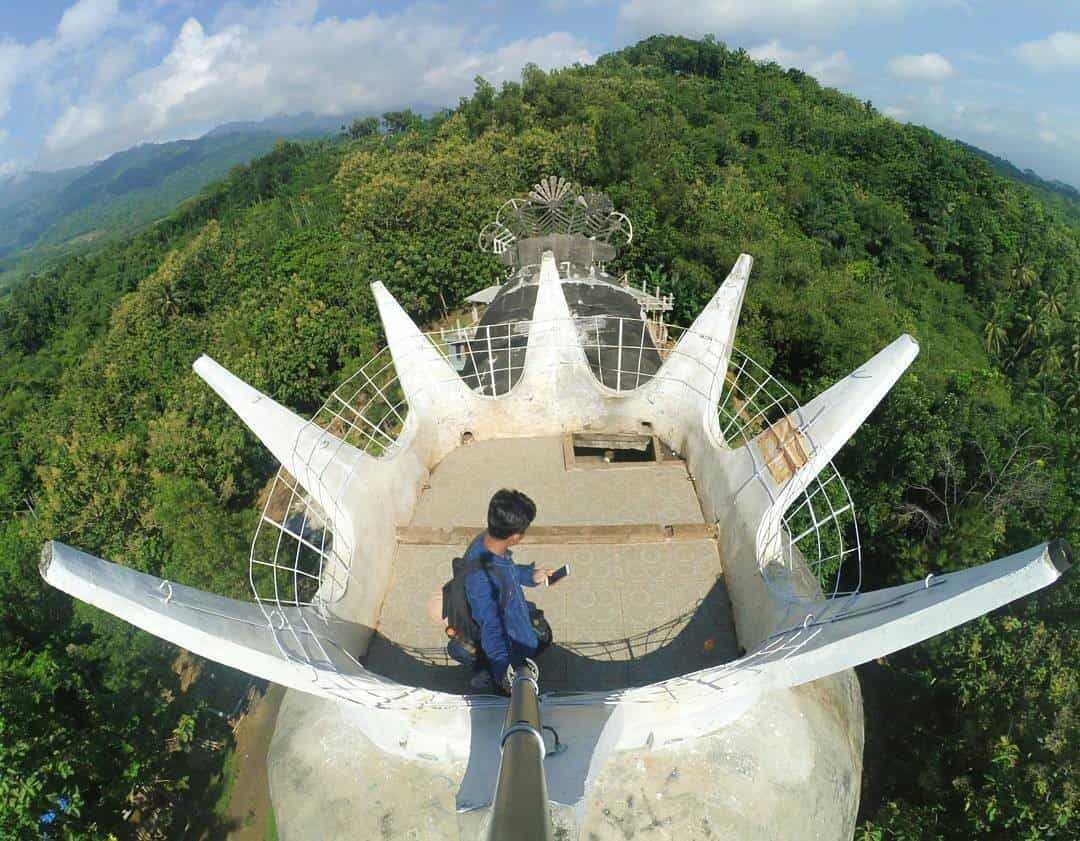 Gereja Ayam Magelang Objek Wisata Unik Berada Atas Bukit Tingkat