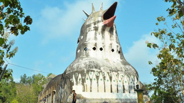 Inilah Wisata Gereja Ayam Tetap Ramai Dikunjungi Wisatawan Meski Tersembunyi