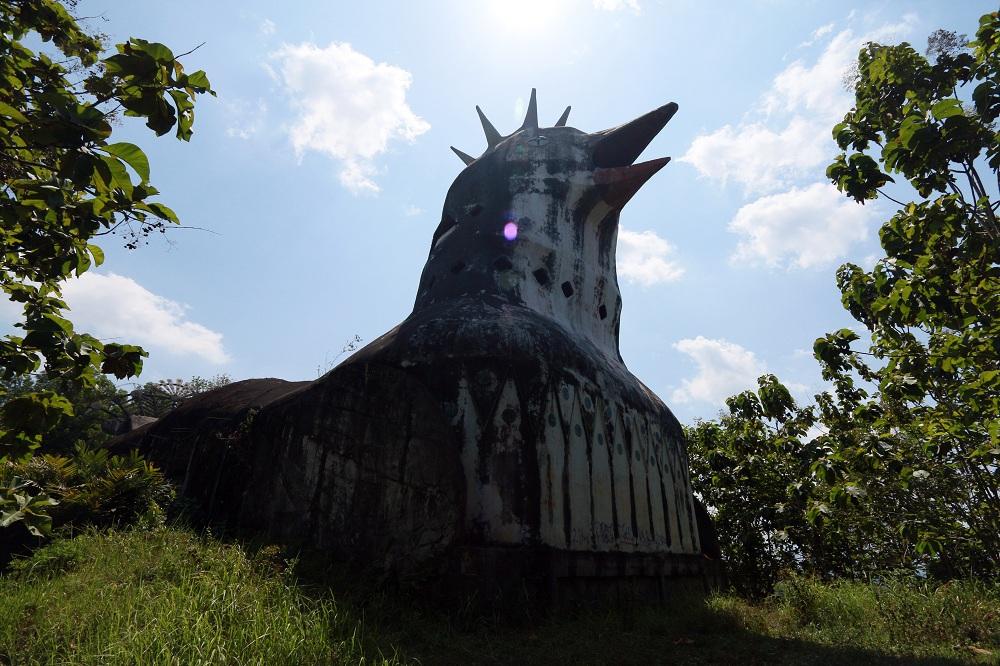 Jogja Part 1 Bangunan Aneh Bernama Gereja Ayam Teman Setaman