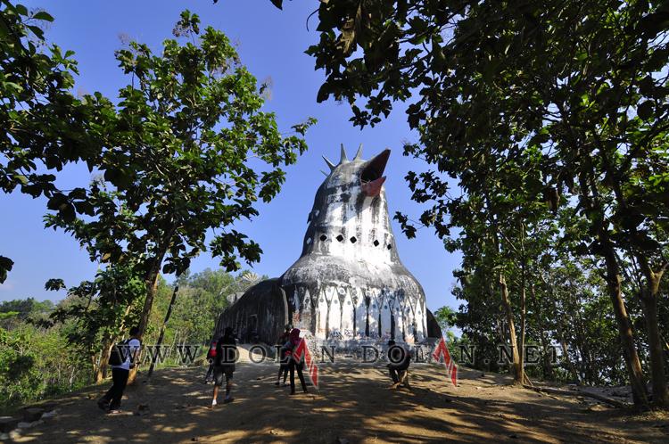 Juli 2015 Dolan Gereja Ayam Borobudur Kab Magelang