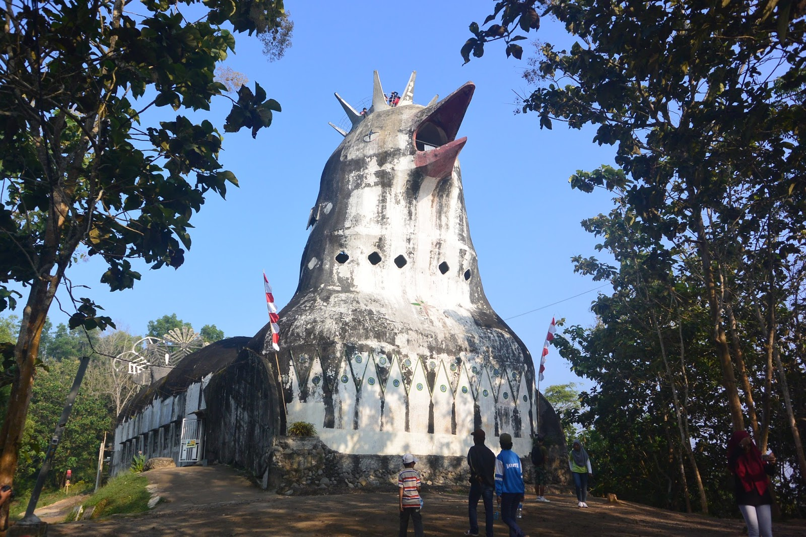 Salah Kaprah Nama Gereja Ayam Ardian Kusuma Kab Magelang