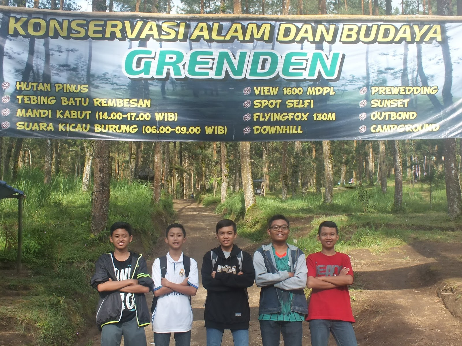 Explore Magelang Keindahan Hutan Pinus Grenden Kab