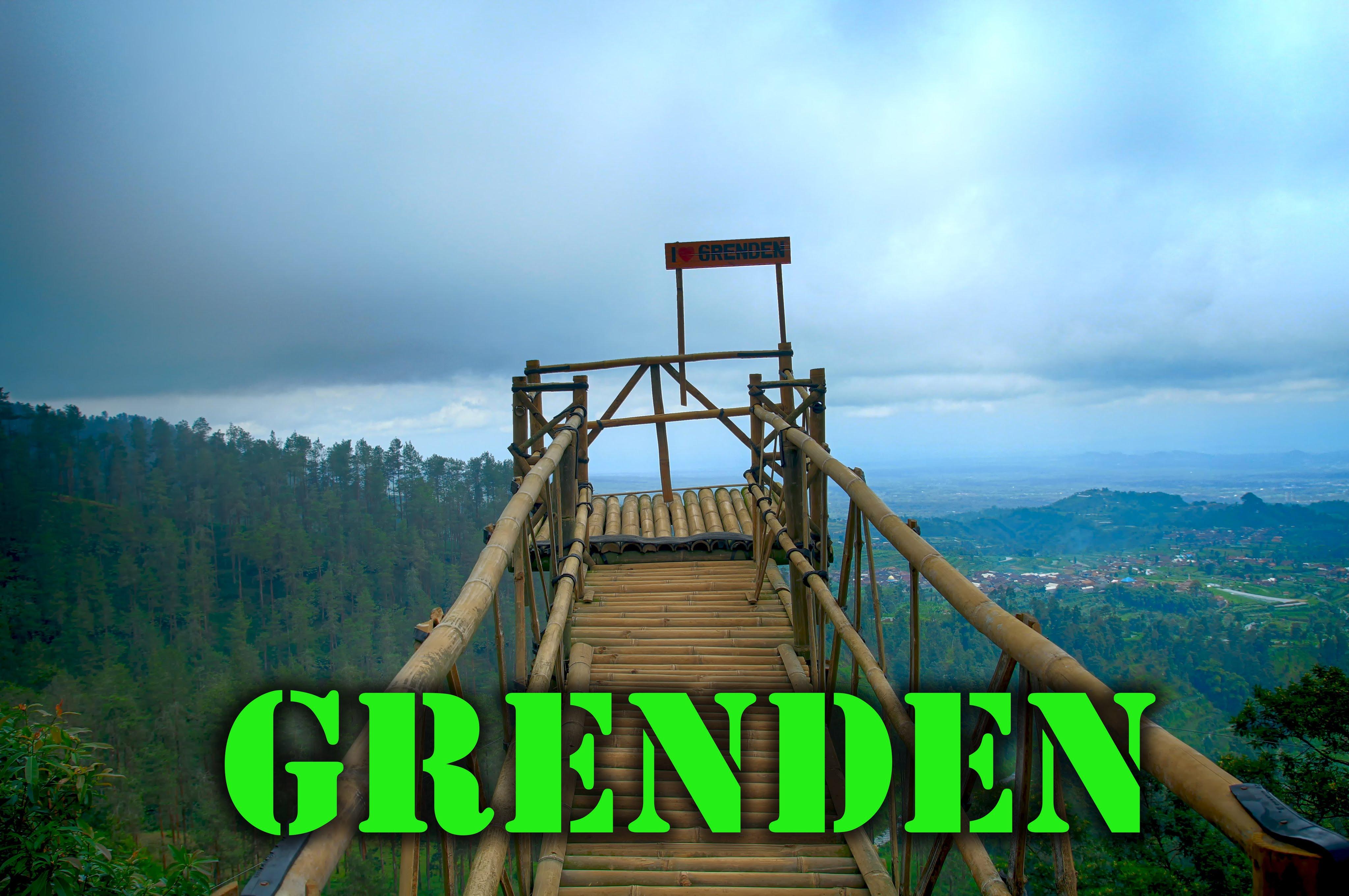 Wisata Alam Grenden Magelang Youtube Hutan Pinus Kab