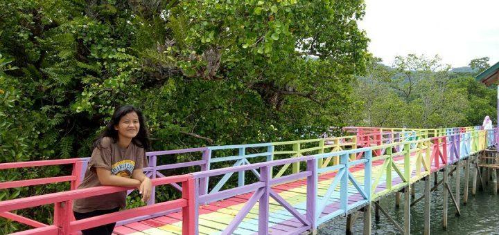 Jalan Jembatan Pelangi Polman Butuhliburan Hati Grenden Kab Magelang