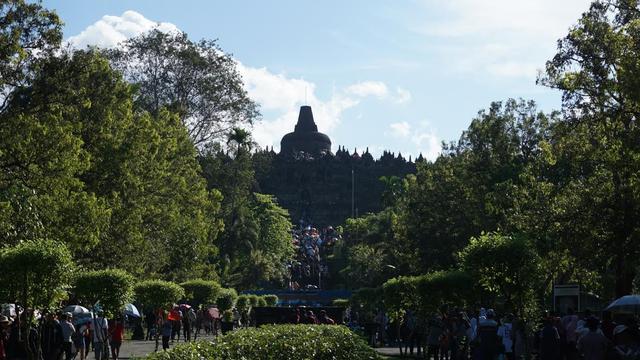 Obama Jatuh Hati Keindahan Candi Borobudur News Liputan6 Jembatan Grenden
